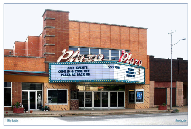 Plaza Theater ... Vernon Texas
