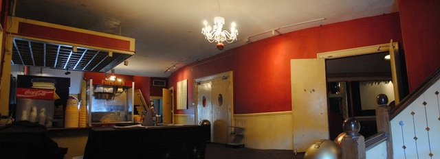 Music Hall, Original 2nd floor lobby