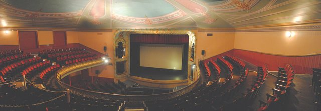 Music Hall pano from balcony