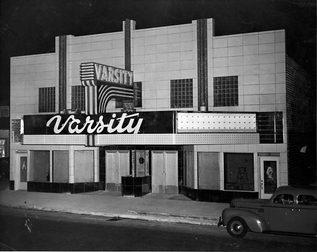 The Varsity Theatre Under Construction