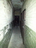 The corridor to the (former) projection room