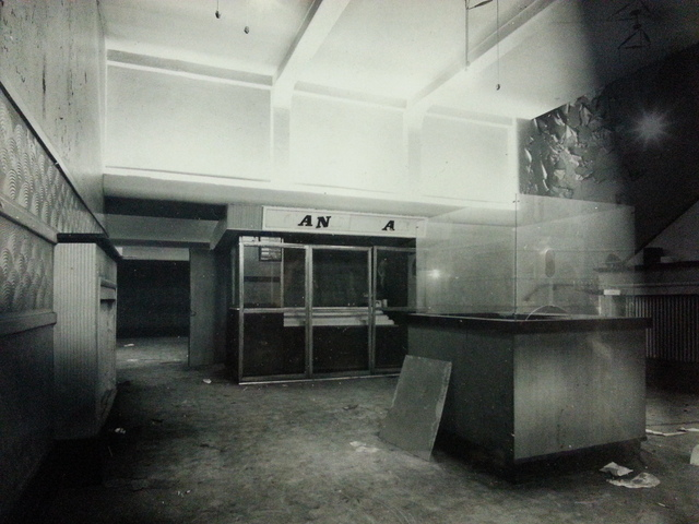 Foyer of the closed Odeon