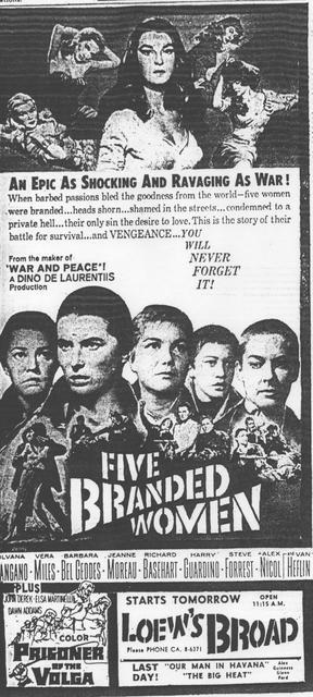 """""""Five Branded Women"""""""
