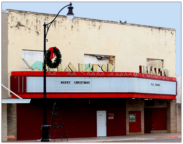 Rialto Theater ... Kenedy Texas