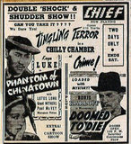 BURKE (CHIEF, CAMEO, KEN) Theatre; Kenosha, Wisconsin: 1941 ad.