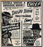 BURKE (CHIEF, CAMEO, KEN) Theatre; Kenosha, Wisconsin: 1941 ad.