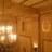 Lobby ceiling from the mezzanine