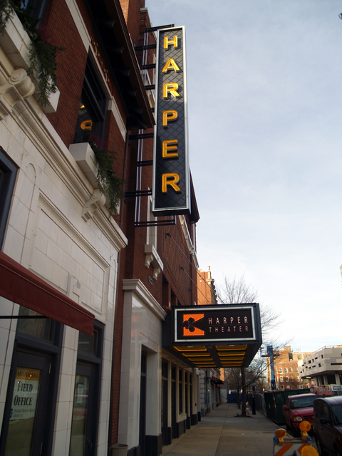 Harper Theater, 1-9-13