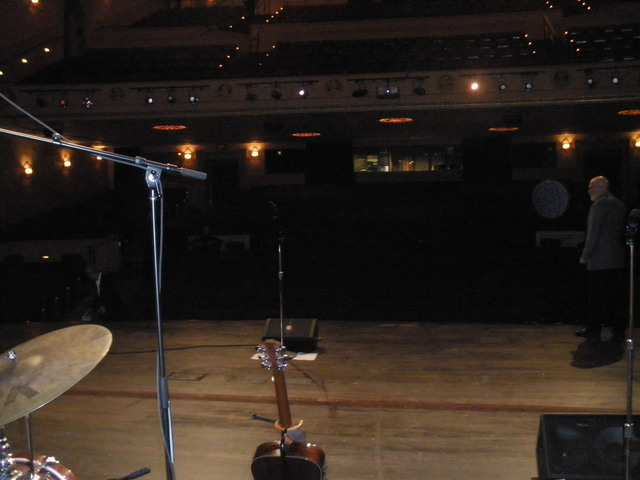 From Stage Right