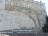 Murals on the Golden State Exterior