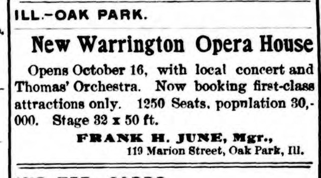 ADD FROM NEWSPAPER RE OPENING