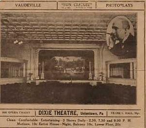 Dixie Theatre Ad