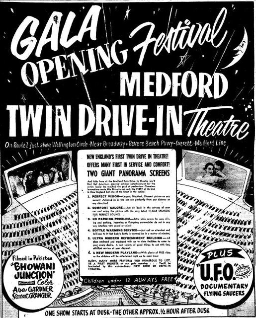 Medford Twin Drive-In