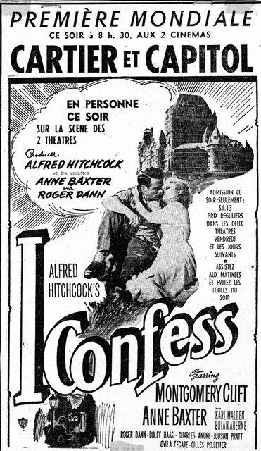 World Premiere of I Confess