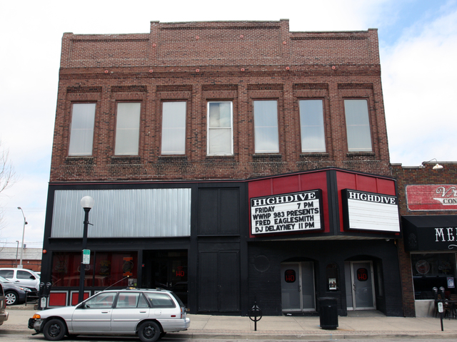 Illini Theater/High Dive Club, Champaign, IL
