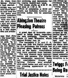 Abingdon Theatre