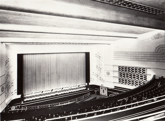 Auditorium of Odeon Theatre, York - February 1937