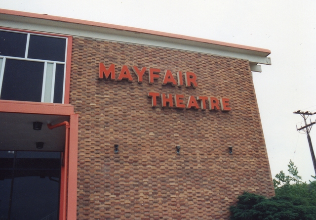 Mayfair Sign 1992