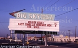 Big Sky Marquee 1983