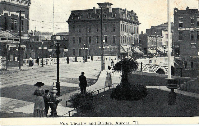 FOX Theatre; Aurora, Illinois.