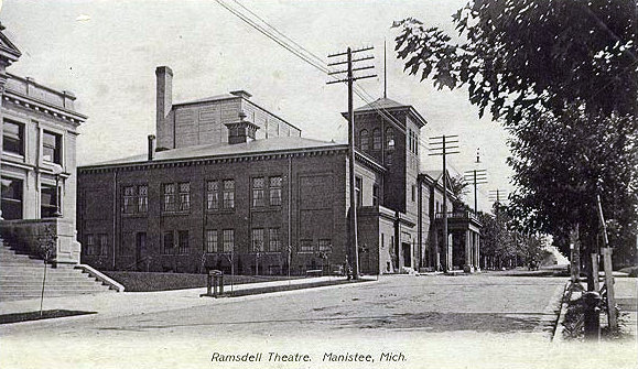 RAMSDELL Theatre; Manistee, Michigan.