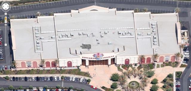 Aerial Photo of the Edwards Mira Mesa Stadium 18 & IMAX (Google Maps)