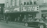 The Park Theater in the 1950's