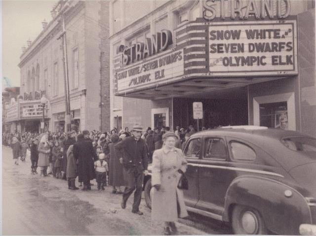 The Strand theater in the 1950's