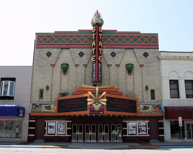 State Theatre, Bay City, MI - exterior