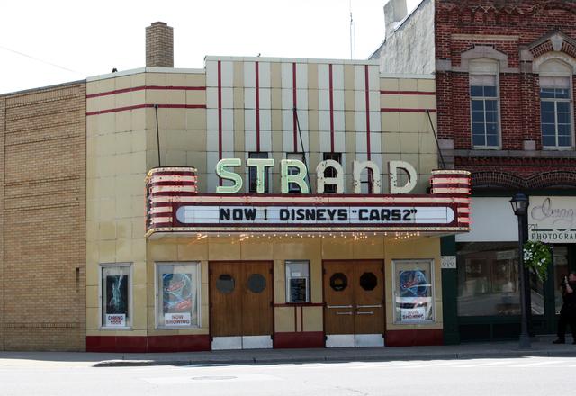 Strand Theatre, Caro, MI