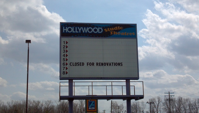 """Closed for Renovations"""