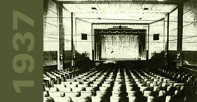Original interior of Franklin Theatre