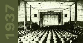Original interior of Franklin Theatre