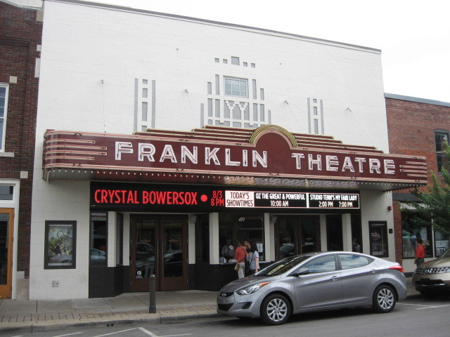 Franklin Theatre exterior in 2013