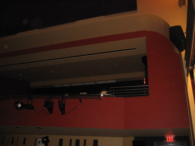 Balcony of Franklin Theatre 2013