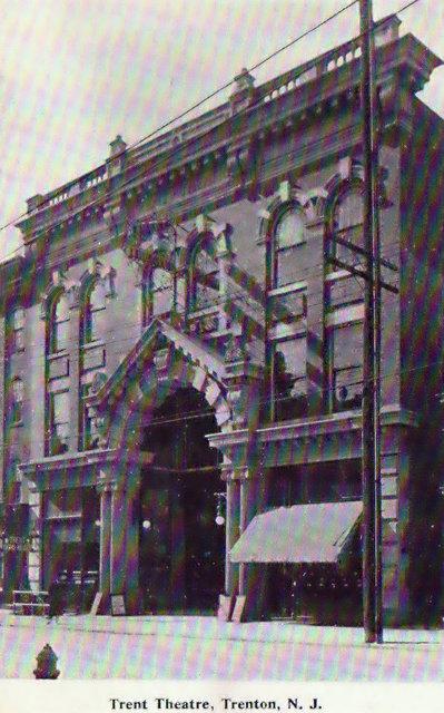 RKO READE'S TRENT Theatre; Trenton, New Jersey.