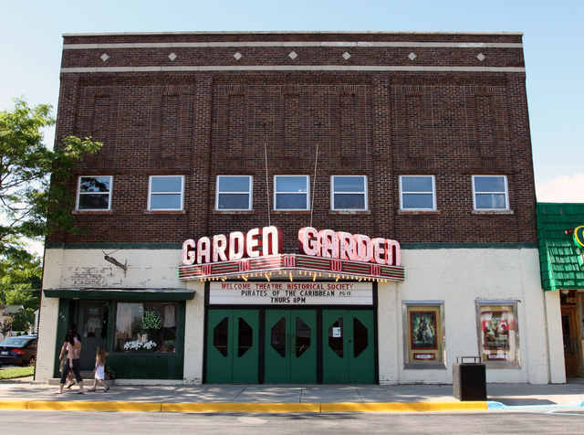 Garden Theater, Frankfort, MI