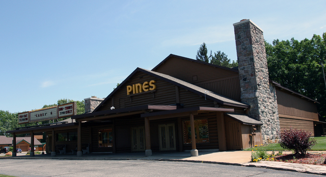 Pines Theatre, Houghton Lake, MI - exterior