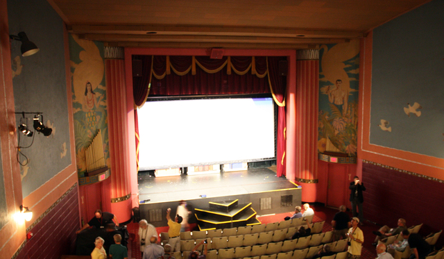 Broadway Theatre, Mt. Pleasant, MI - auditorium