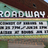 Broadway Theatre, Mt. Pleasant, MI - sign