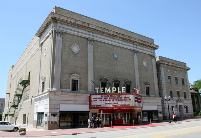 Temple Theatre, Saginaw, MI - exterior