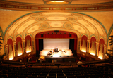Temple Theatre, Saginaw, MI - auditorium from back of balcony