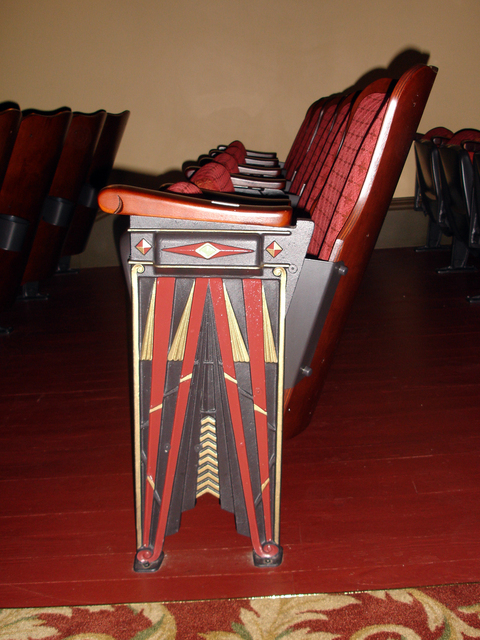 Riviera Theatre, Three Rivers, MI - seats