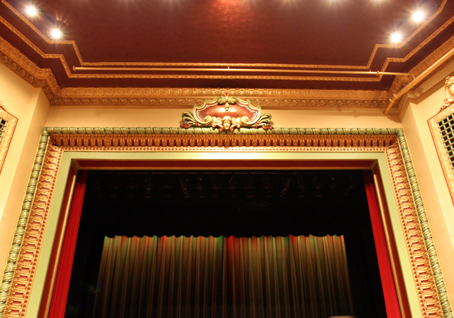 Riviera Theatre, Three Rivers, MI - proscenium