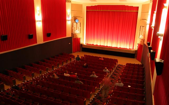 Vassar Theatre, Vassar, MI - auditorium