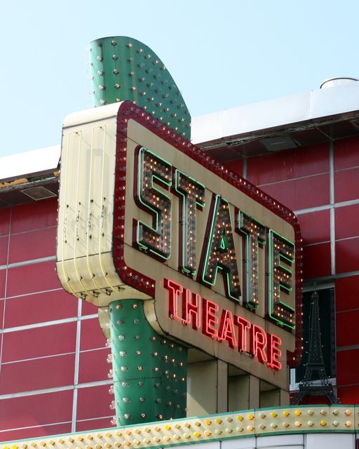 State Theatre, Traverse City, MI - sign