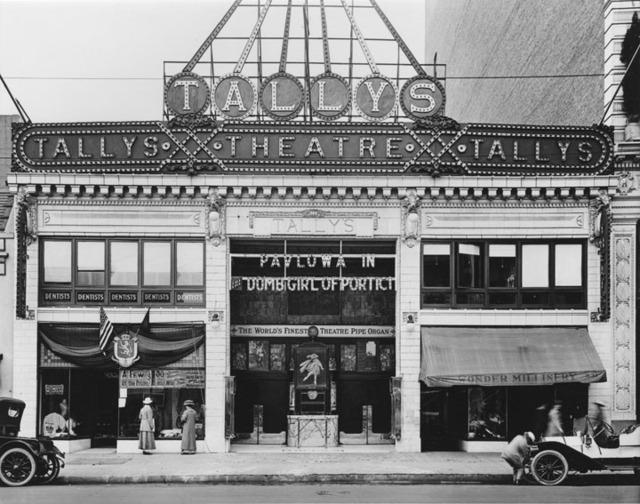 tally 39 s broadway theatre in los angeles ca cinema treasures