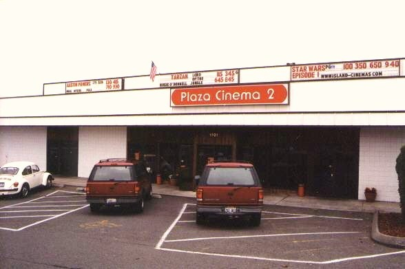 Front of theater building