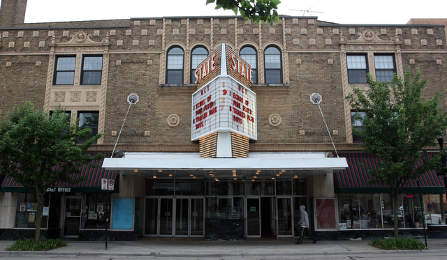 State Theatre, Kalamazoo, MI - exterior