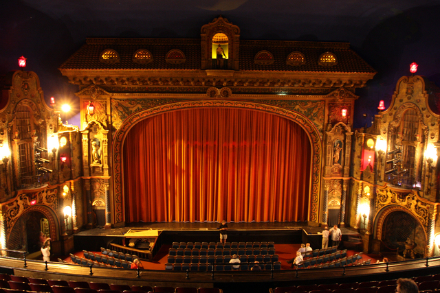 State Theatre, Kalamazoo, MI - auditorium from balcony